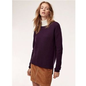 Wilfred Free Isabelli Plum Sweater (XS)